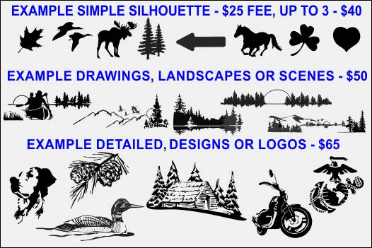 Custom Carved Wood Signs Image Types